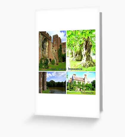 "East Sussex Impressions featured in ""All castles around the world"" Greeting Card"
