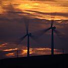 Turbine Sunset by David Lewins