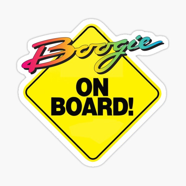 Boogie a bordo Pegatina