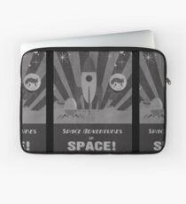 Funda para portátil Aventuras espaciales, en el espacio!