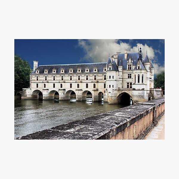 Chenonceau Castle  Photographic Print