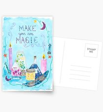 Make Your Own Magic Postcards