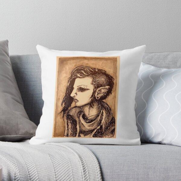 Shadar-Kai Throw Pillow