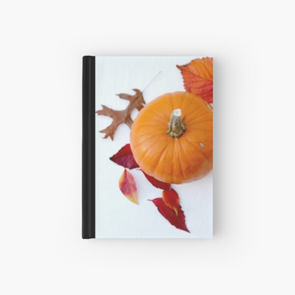 Pumpkin Hardcover Journal