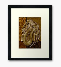TANGAROA - God of the Sea Framed Print