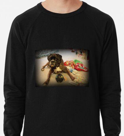 Ist das ein anderes Weihnachtsgeschenk für mich? - Boxer-Hunde-Reihe Leichtes Sweatshirt