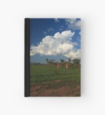 A rural scene Hardcover Journal