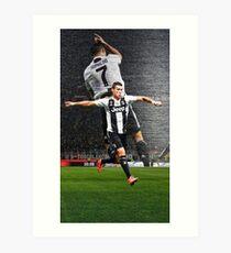 Cristiano Ronaldo Der beste Juventus-Spieler Kunstdruck