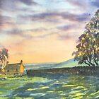 Long Shadows at Sunset by Glenn Marshall