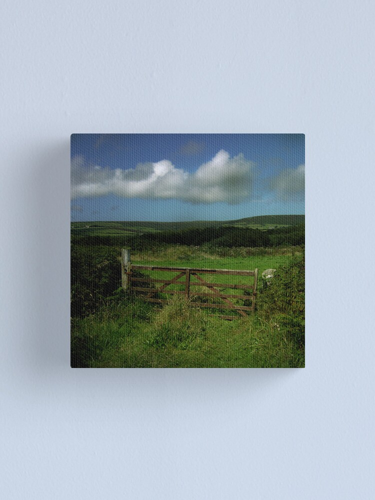 Alternate view of The Gate Canvas Print