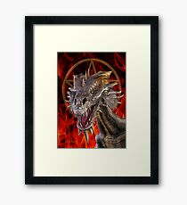 Dragon of Witchcraft Framed Print