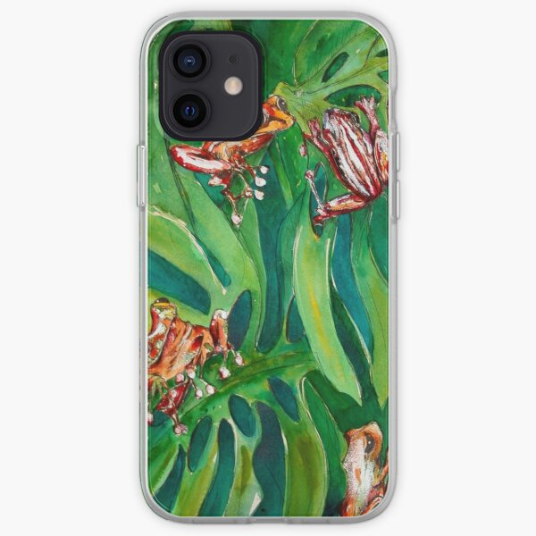 african tree frogs iPhone Soft Case