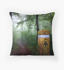 Appalachian Trail Magic Throw Pillow