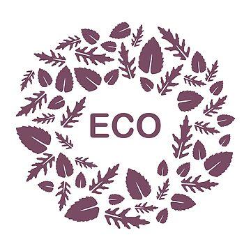 Arugula, basil leaves. Eco, vegan, bio, organic by aquamarine-p
