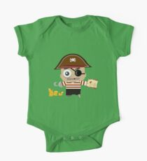 Baby Pirate One Piece - Short Sleeve
