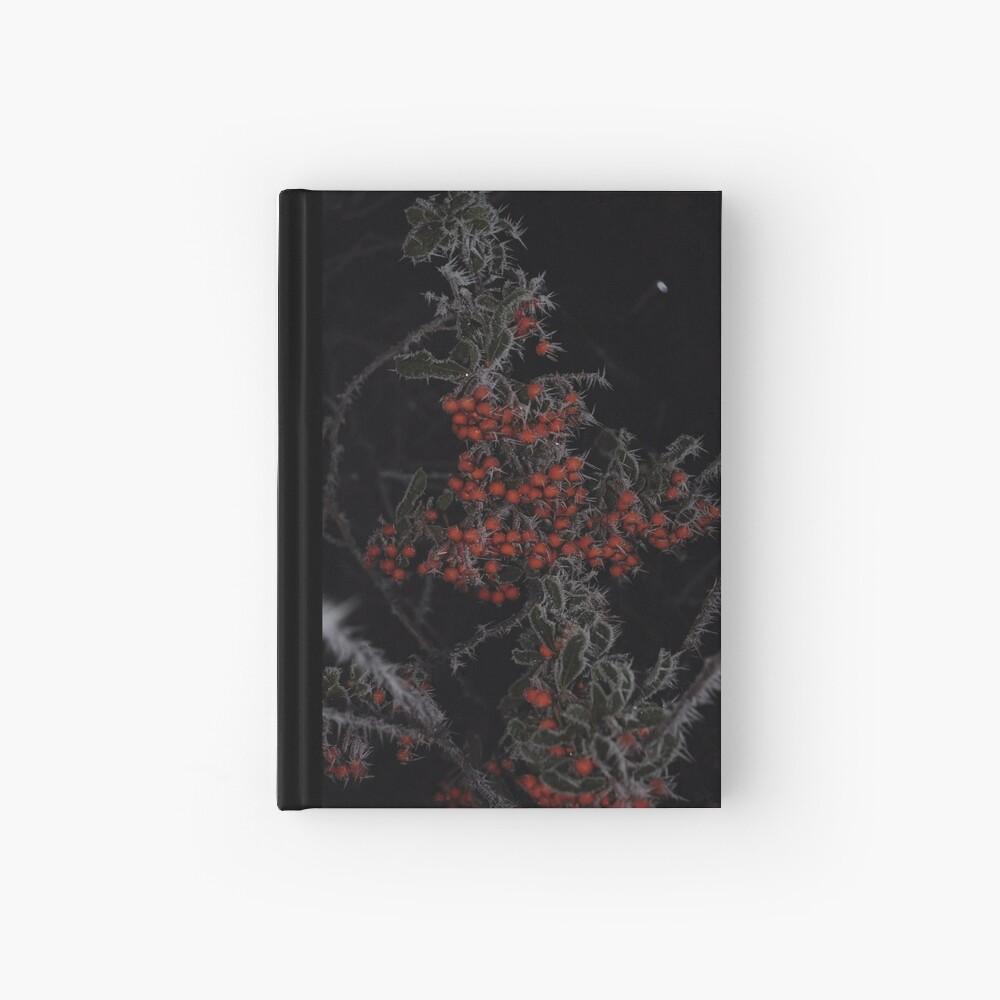 Frozen Berries Hardcover Journal