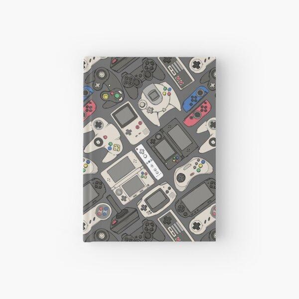 Videospiel-Controller in echten Farben Notizbuch