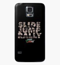 Slide Jump Rally - Black Case/Skin for Samsung Galaxy