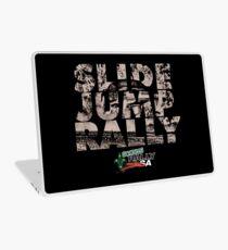 Slide Jump Rally - Black Laptop Skin