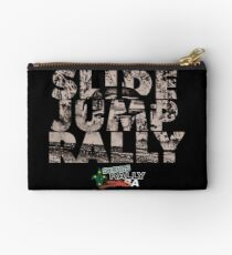 Slide Jump Rally - Black Studio Pouch