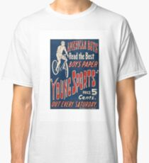 1950's Bicycle Ad Classic T-Shirt