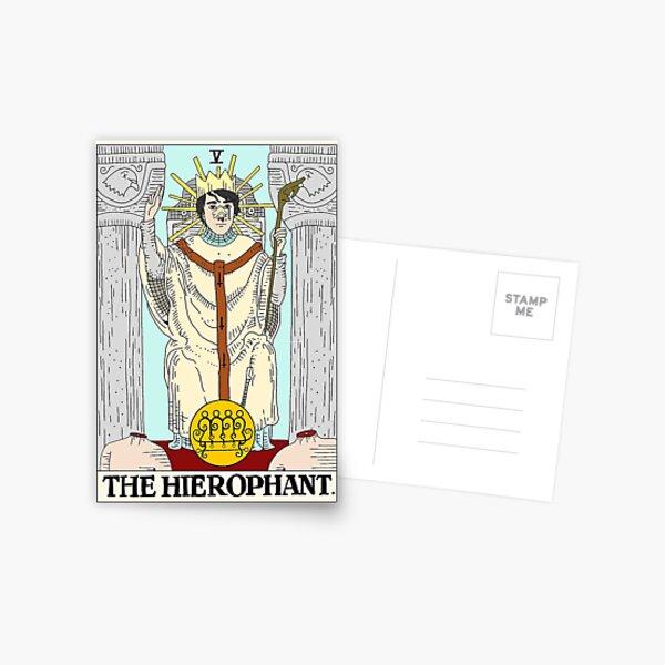 Horror Arcana - V. The Hierophant (Hereditary) Postcard