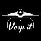 Klassisches Vintage Motorrad Vespa - Vesp it von diegogdrc