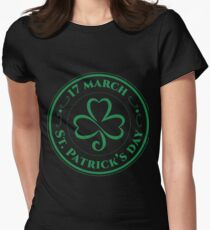 St Patrick Day Women's Fitted T-Shirt