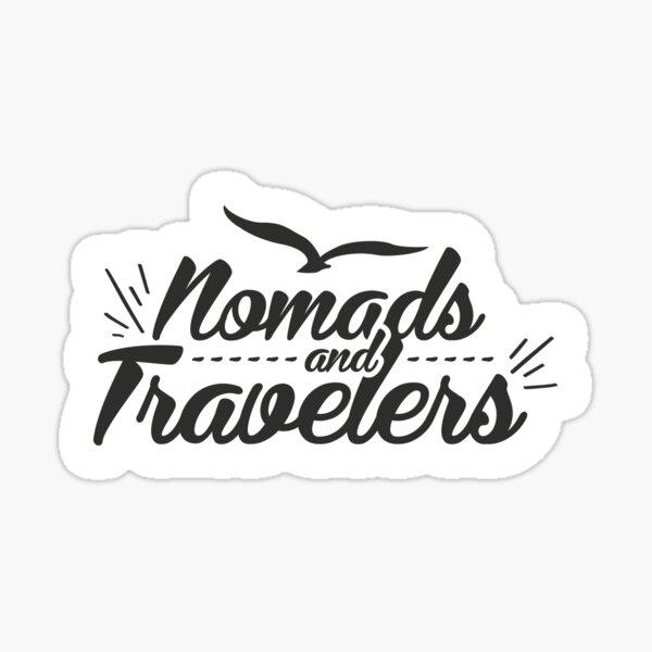 Stiker - Nomads and Travelers Sticker