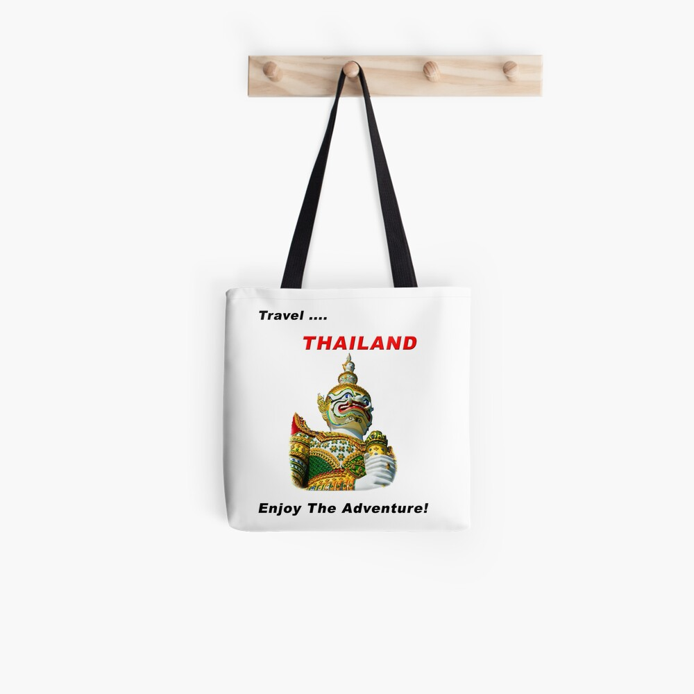 Travel Thailand - Enjoy The Adventure! Tote Bag