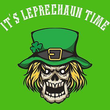 Creepy Leprechaun Shirt by Juttas-Shirts