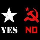 America Yes Russia No by electrovista
