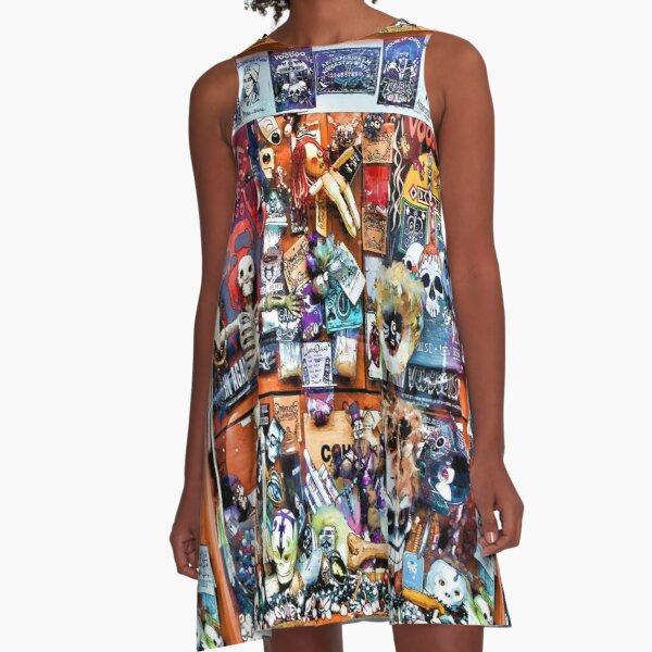 Zombie's House of Voodoo A-Line Dress