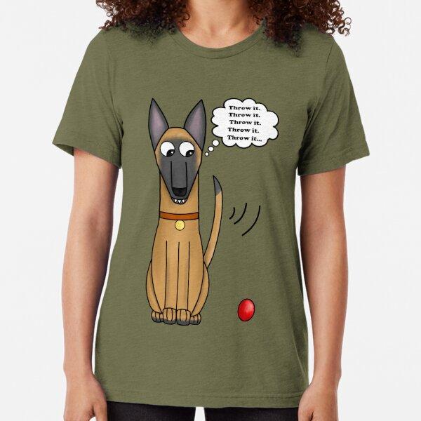 Throw-It Tri-blend T-Shirt