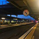 Railway Station Clock by Michael McGimpsey