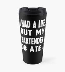 Lustige Geschenke für Barkeeper Thermosbecher