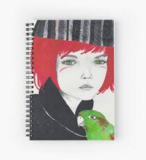 A Tropical Conversation Spiral Notebook