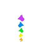 Bell Ringing - RAINBOW BELLS - Vertical by SuzySuperlative