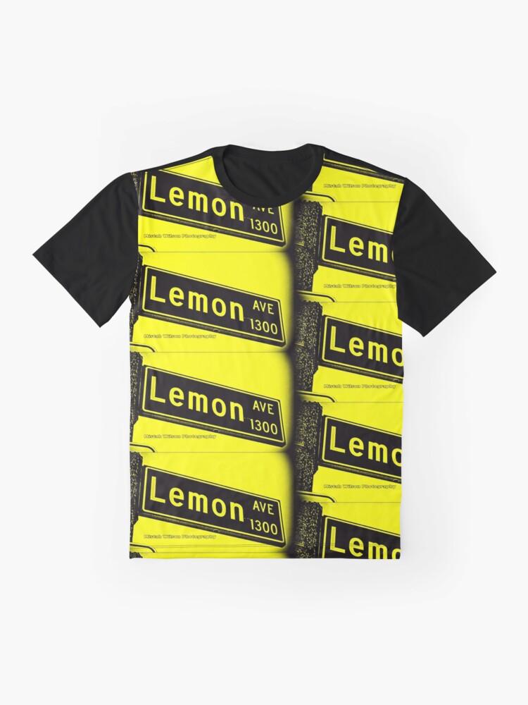 Alternate view of Lemon Avenue, Long Beach, CA Bumblebee by Mistah Wilson Photography Graphic T-Shirt
