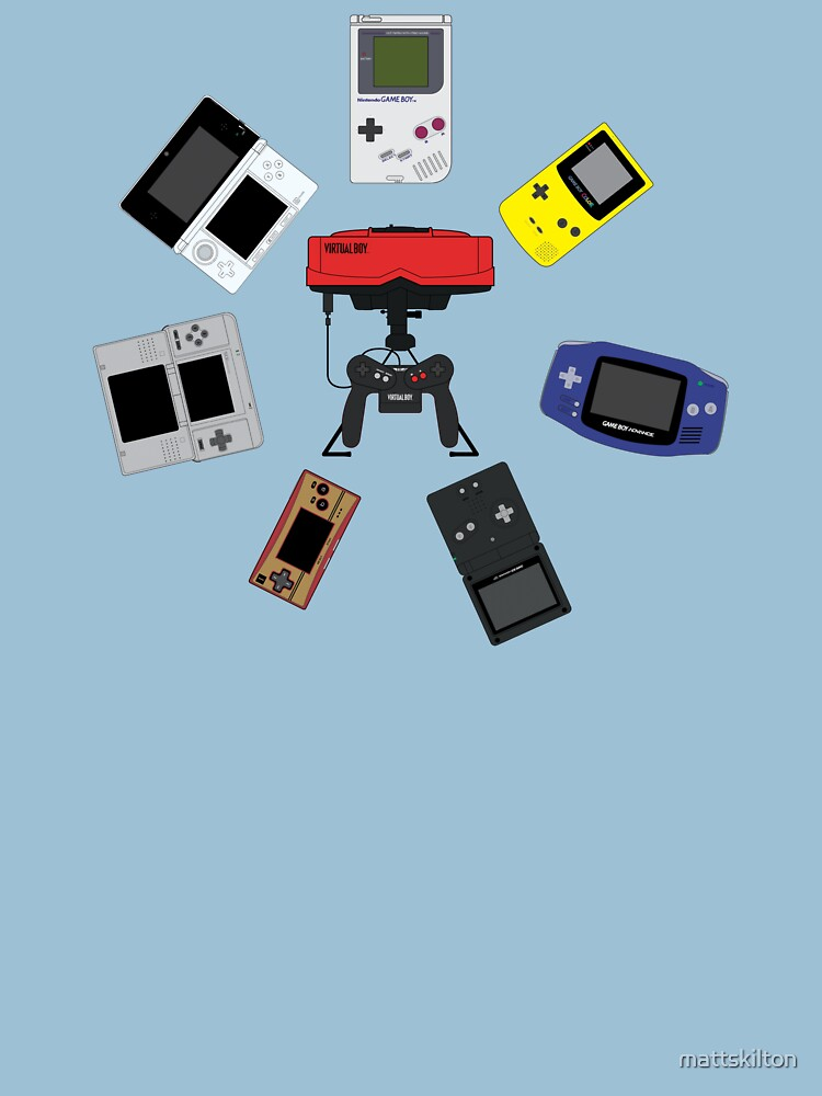 Gameboys + Virtualboy by mattskilton