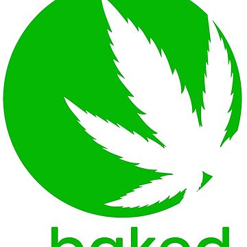 Al horno en la campana Cannabis Leaf Stoner Design de Cudge82