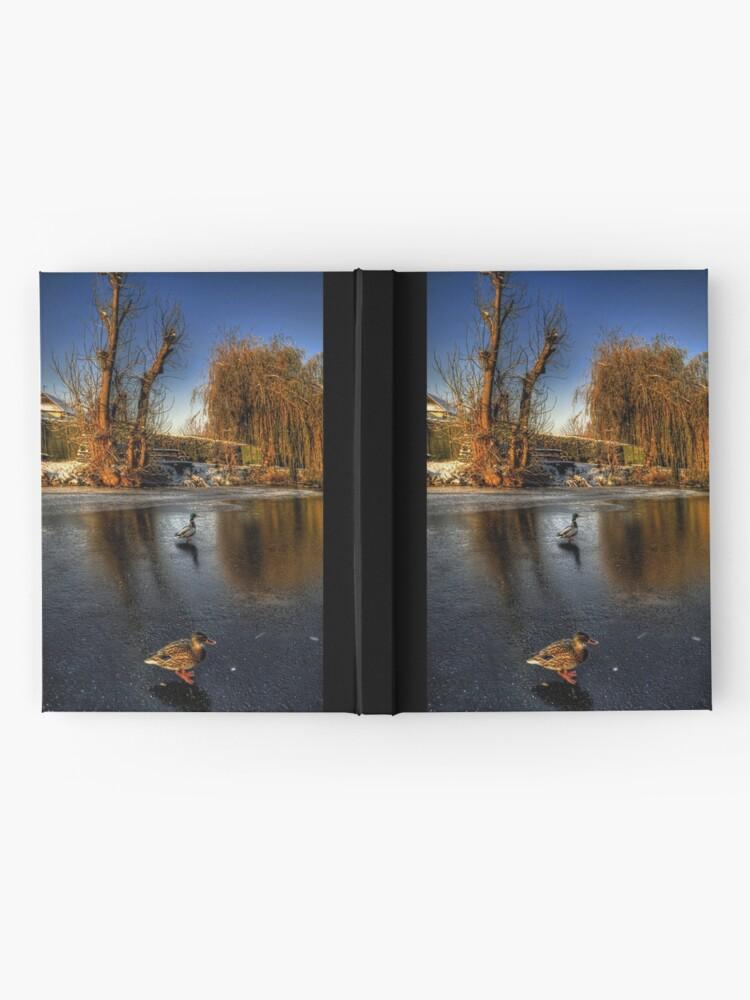 Alternate view of Ducks On Ice  Hardcover Journal
