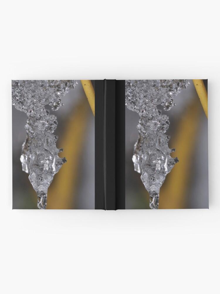 Alternate view of Ice Chrysalis Hardcover Journal