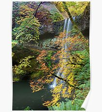 Lower South Falls East View Poster