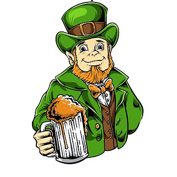 New York Drinking Team - Leprechaun Beer Patrick Day by EcoKeeps