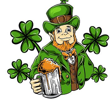Let's Day Drink Drinking - Leprechaun Beer Patrick Day by EcoKeeps