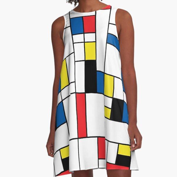 Mondrian A-Line Dress
