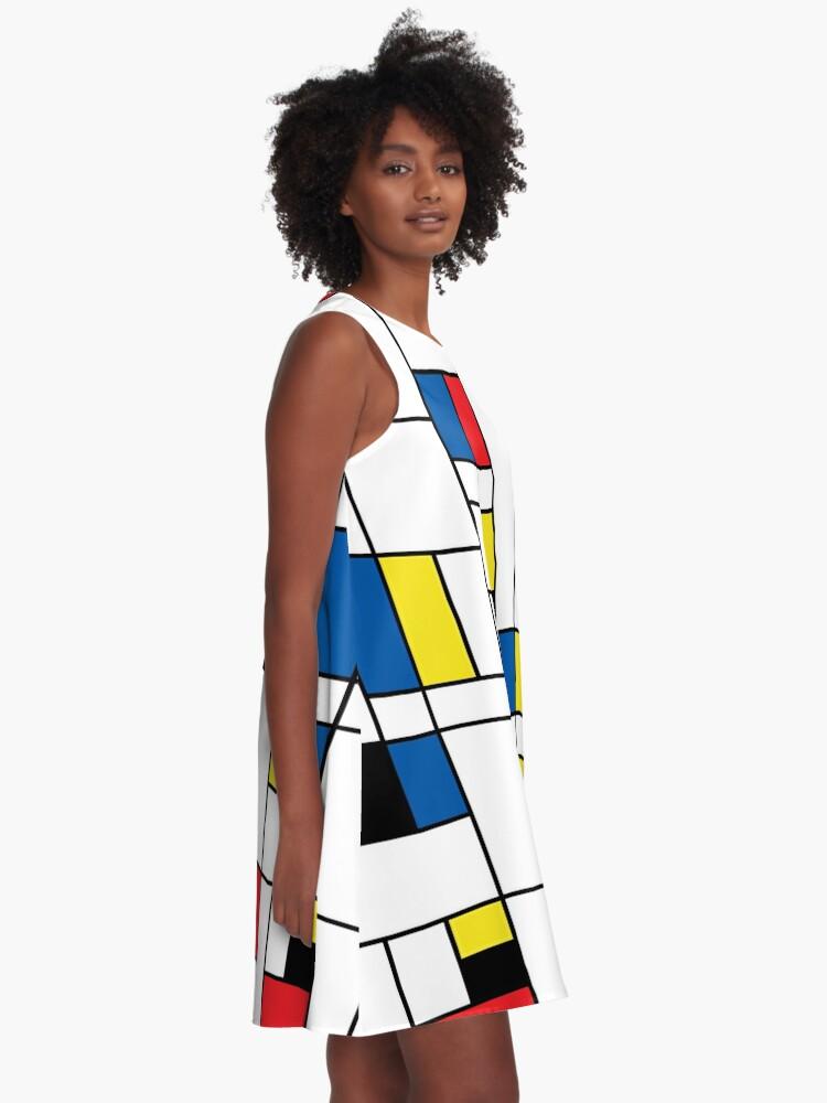 Alternate view of Mondrian A-Line Dress