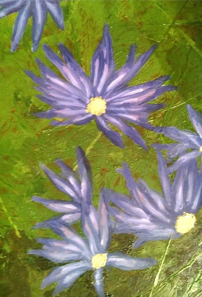 Purple Flowers by sheyman