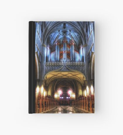 Pipe Organ - St Nicholas Cathedral Hardcover Journal